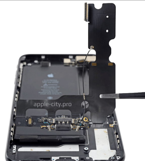 iphone 7 замена нижнего шлейфа
